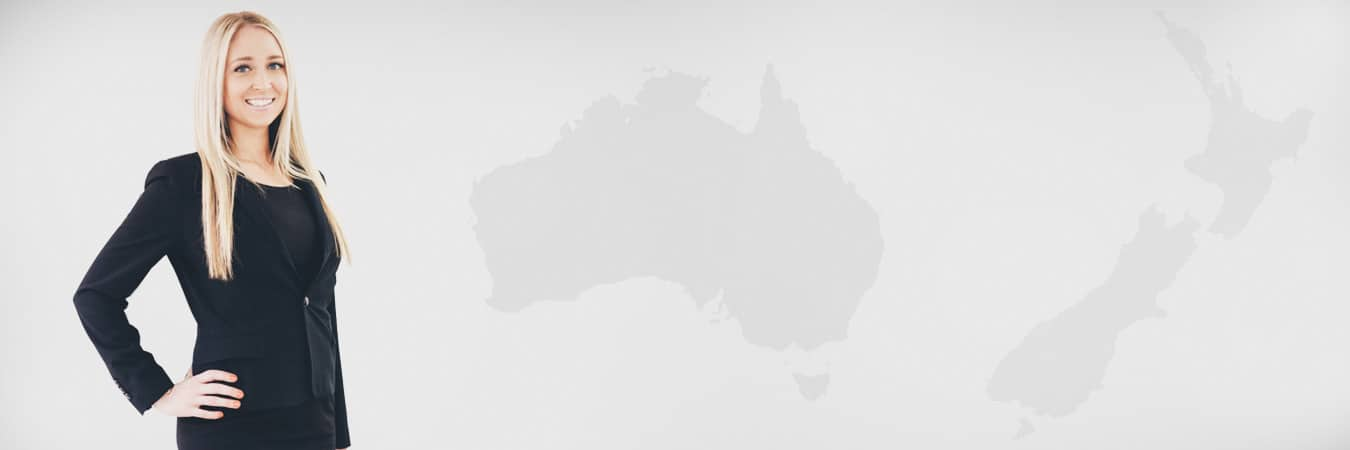 Lana – Australia and NZ map background