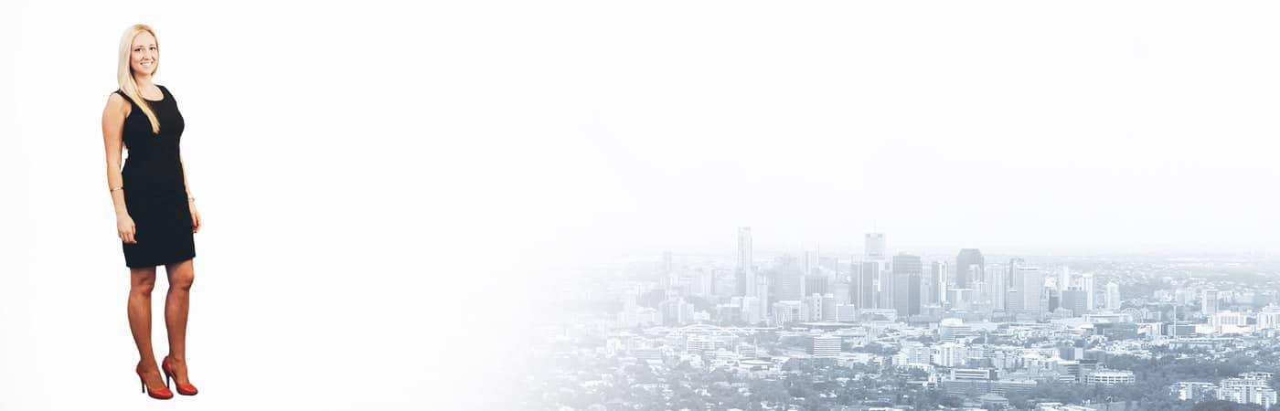 Lana on Brisbane City Background Photo